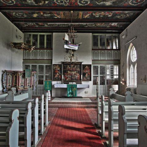 Halligkirche Langeness