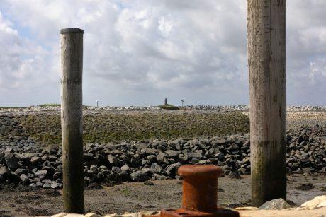 Leuchtturm vom Ilef aus gesehen