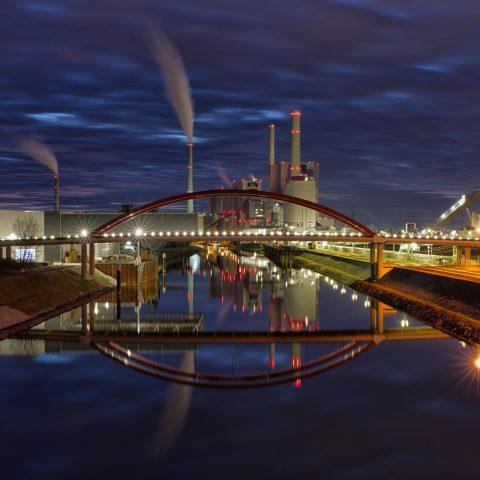 Blaue Stunde am GKM Mannheim
