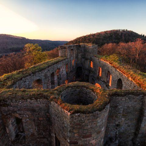 Burg Gräfenstein in Merzalben
